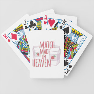 Made In Heaven Bicycle Playing Cards