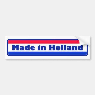 Made in Holland Bumper Sticker