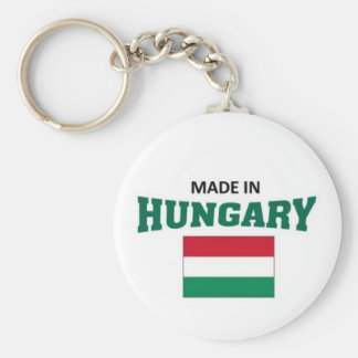 Made in Hungary Keychain