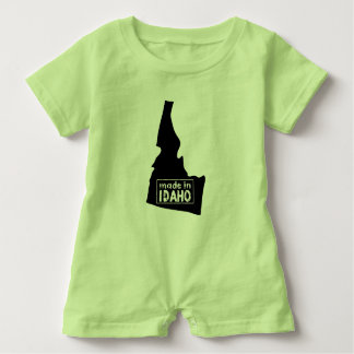 Made in Idaho Personalized Baby Bodysuit