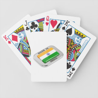 Made in India Bicycle Playing Cards