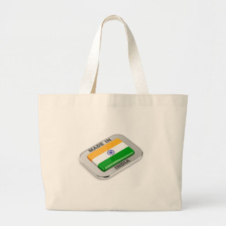 Made in India Large Tote Bag