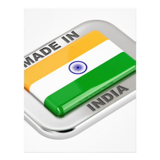 Made in India Letterhead