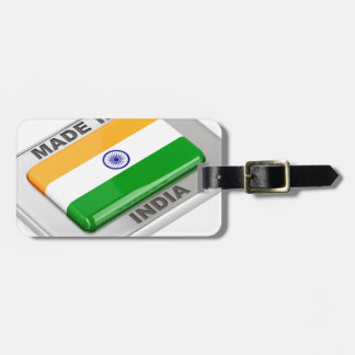 Made in India Luggage Tag