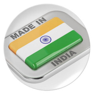 Made in India Plate
