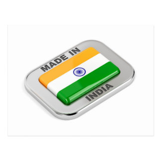 Made in India Postcard