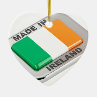 Made in Ireland Ceramic Ornament