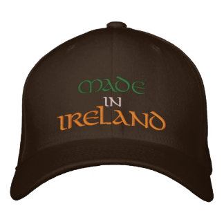 MADE  IN  IRELAND EMBROIDERED BASEBALL CAP