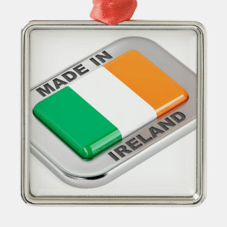Made in Ireland Metal Ornament