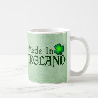 Made in Ireland Classic White Coffee Mug