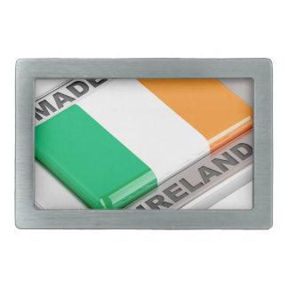 Made in Ireland Rectangular Belt Buckles