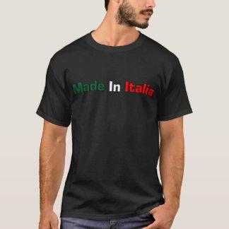 Made In Italia Black T- Shirt