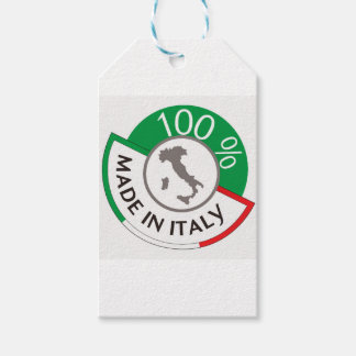 MADE IN ITALY 100% GIFT TAGS