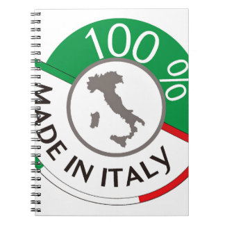 MADE IN ITALY 100% NOTEBOOK