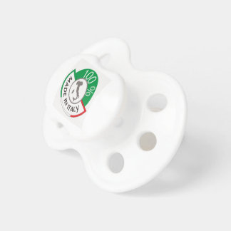 MADE IN ITALY 100% PACIFIERS