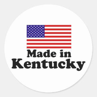 Made in Kentucky Classic Round Sticker