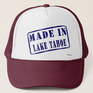 Made in Lake Tahoe Trucker Hat