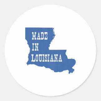 Made In Louisiana Round Sticker