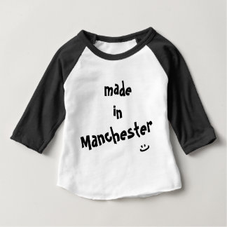 Made in Manchester - Baby Tee