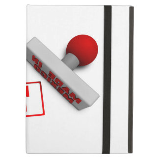 Made in Mexico Stamp or Chop on Paper Concept in 3 Case For iPad Air