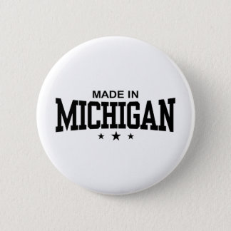 Made In Michigan 2 Inch Round Button