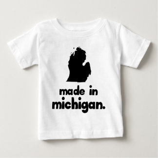 Made in Michigan Baby T-Shirt