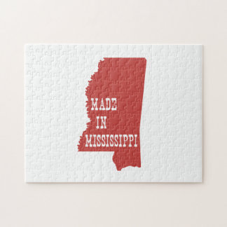 Made In Mississippi Jigsaw Puzzle