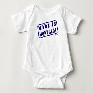 Made in Montreal Baby Bodysuit