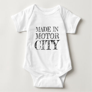 MADE IN MOTOR CITY BABY BODYSUIT