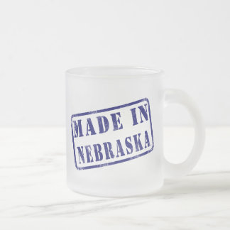 Made in Nebraska Coffee Mugs