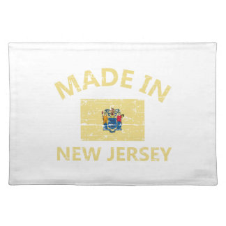 Made in NEW JERSEY United States Flag designs Cloth Place Mat
