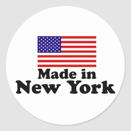 Made in New York Stickers