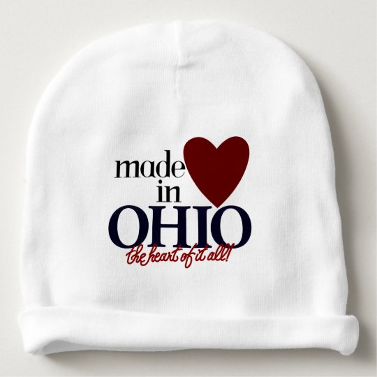 """Made In Ohio"" BABY BEENIE Baby Beanie"