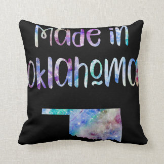 Made in Ohio OH state Iridescent Opalescent Throw Pillow