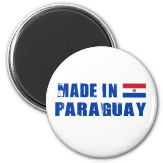 Made in Paraguay Magnet