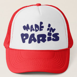 MADE IN PARIS TRUCKER HAT