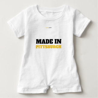 MADE IN PITTSBURGH BABY ROMPER