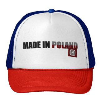 Made in Poland, original, country proud, pride cap Trucker Hat