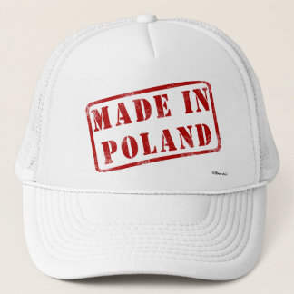 Made in Poland Trucker Hat