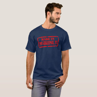 Made In Poughkeepsie - Red T-Shirt