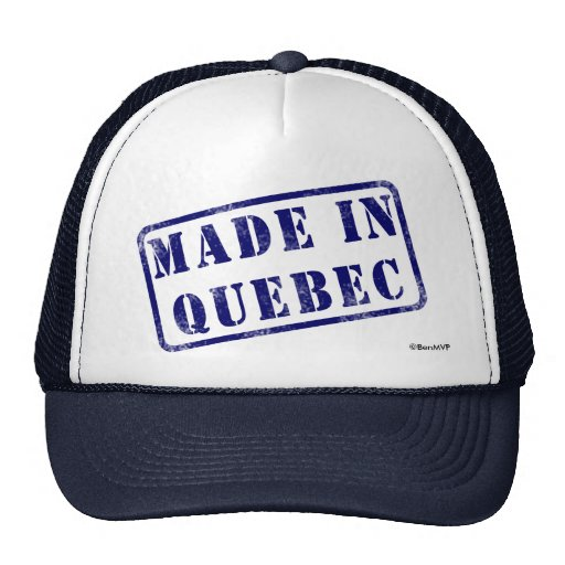 Made in Quebec Trucker Hats