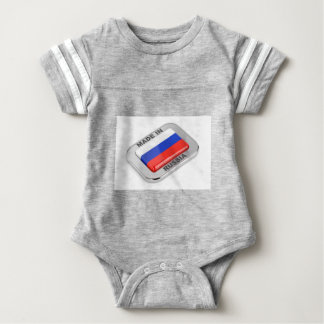 Made in Russia Baby Bodysuit