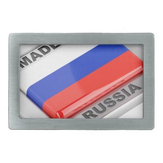 Made in Russia Belt Buckle