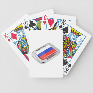 Made in Russia Bicycle Playing Cards