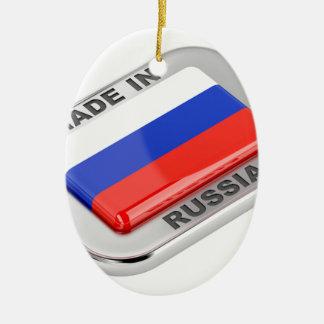 Made in Russia Ceramic Ornament