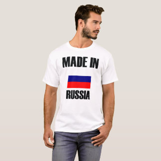 Made In Russia Flag T-Shirt