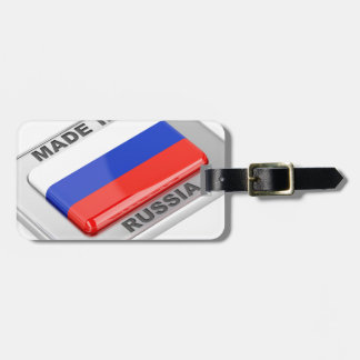 Made in Russia Luggage Tag