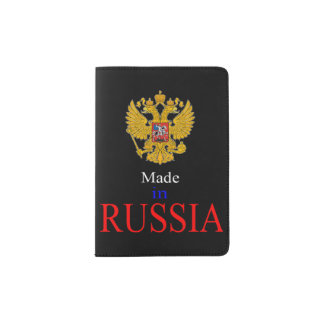 made in russia Passport Holder