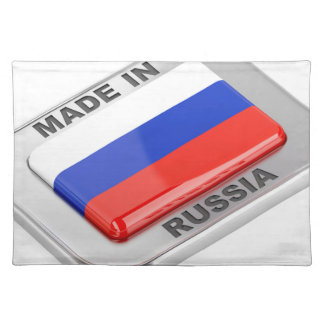 Made in Russia Placemat