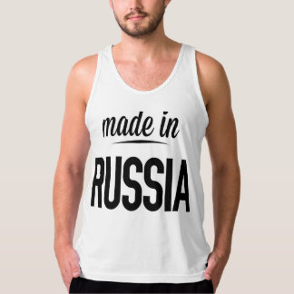 Made in Russia Tank Top